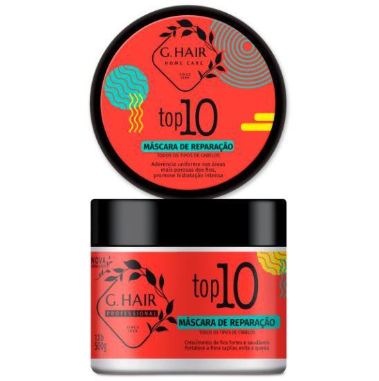 Ghair Máscara TOP10 - 500g  - Loja Ghair Cosmeticos