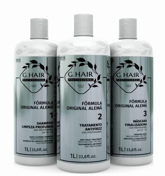Kit Ghair Escova Alemã Litro + Kit For Man  - Loja Ghair Cosmeticos