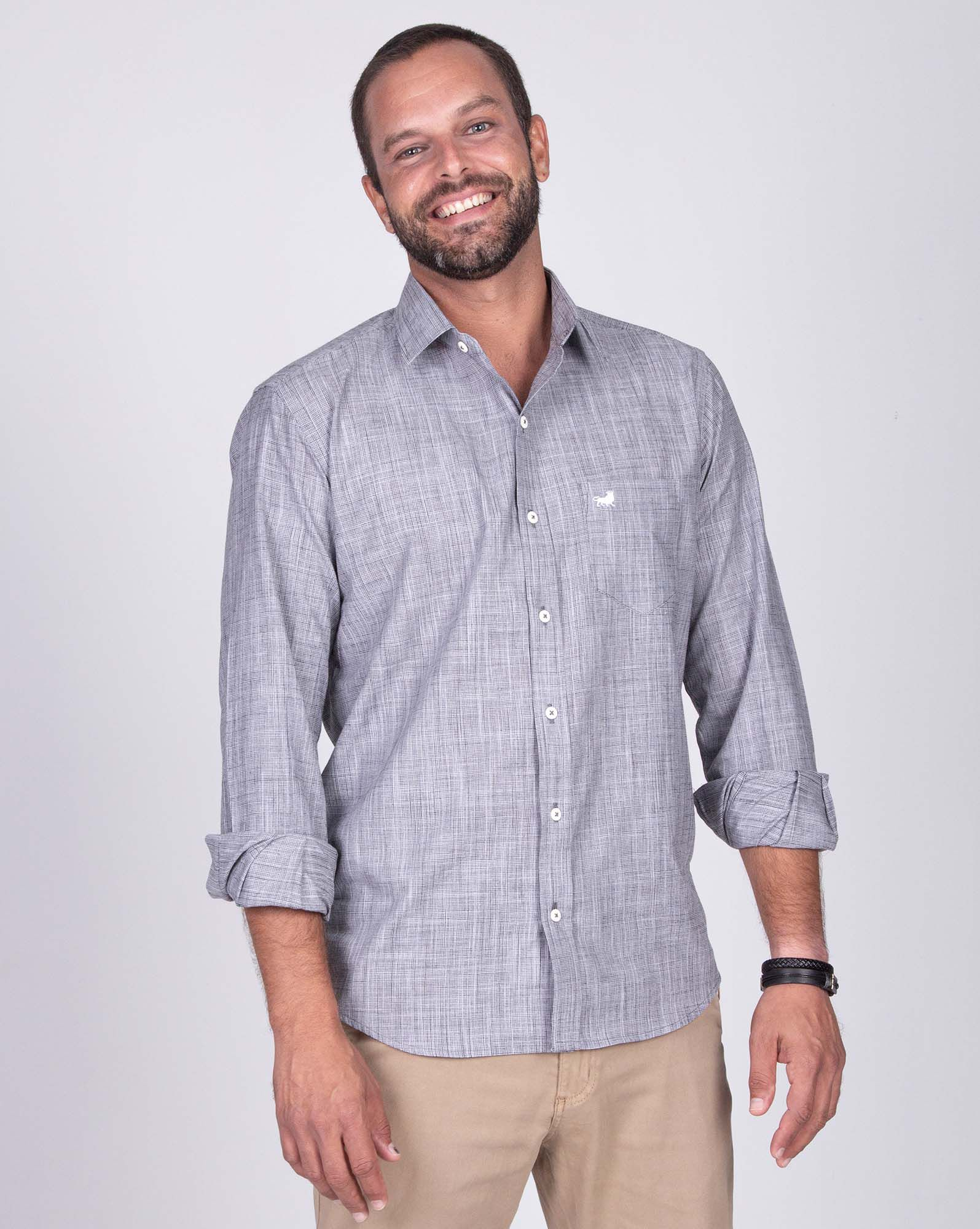 CAMISA LIGHT GRAPHITE