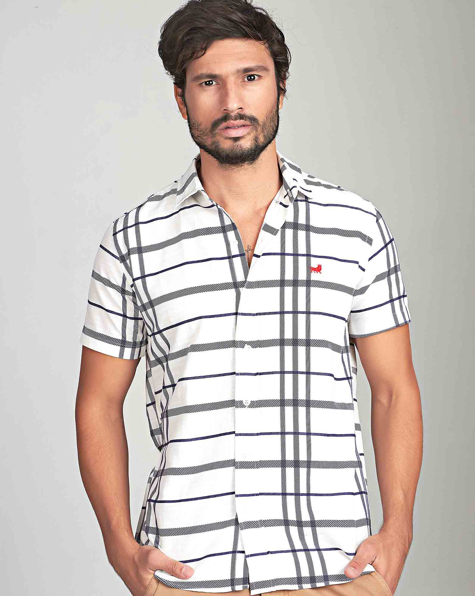 CAMISA MC CASUAL CHESS