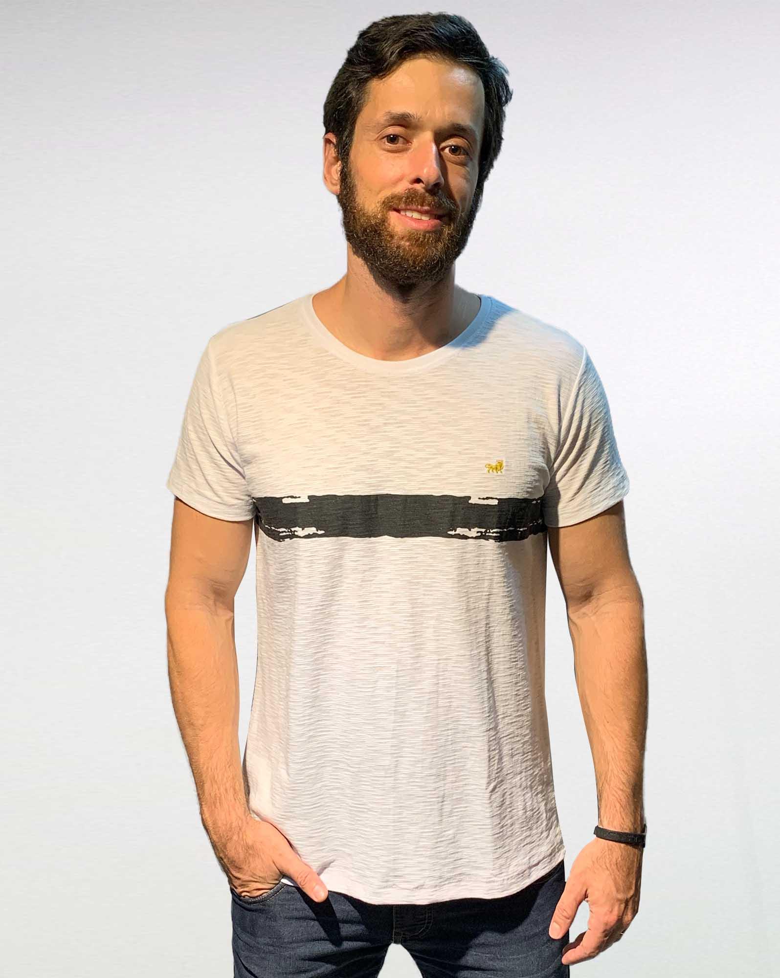 Camiseta Center Strip