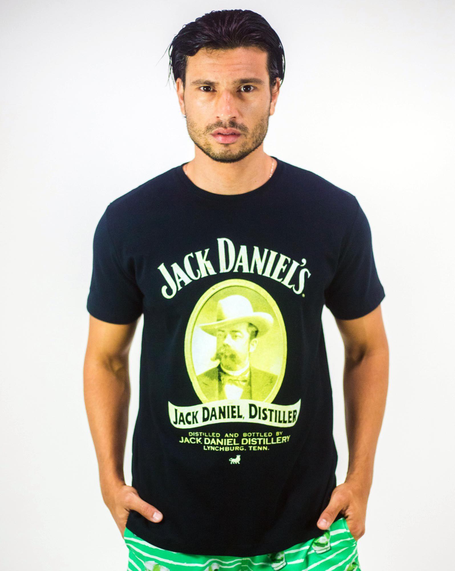 CAMISETA JACK DANIEL'S RETRÔ