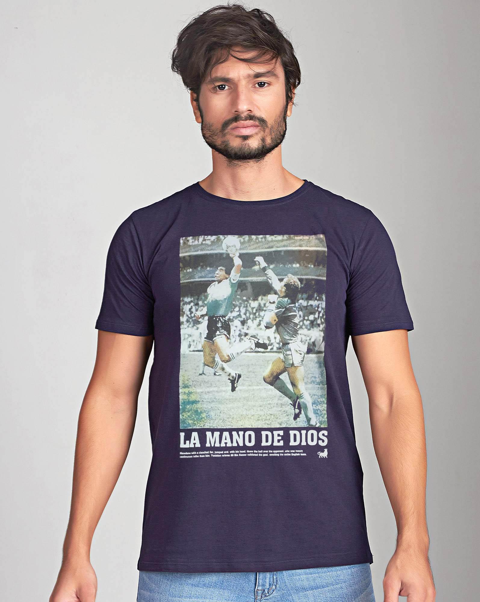 Camiseta La Mano de Dios
