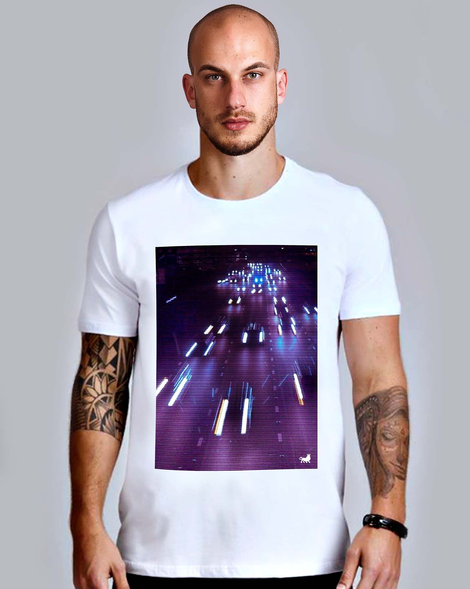 CAMISETA NIGHT ROAD