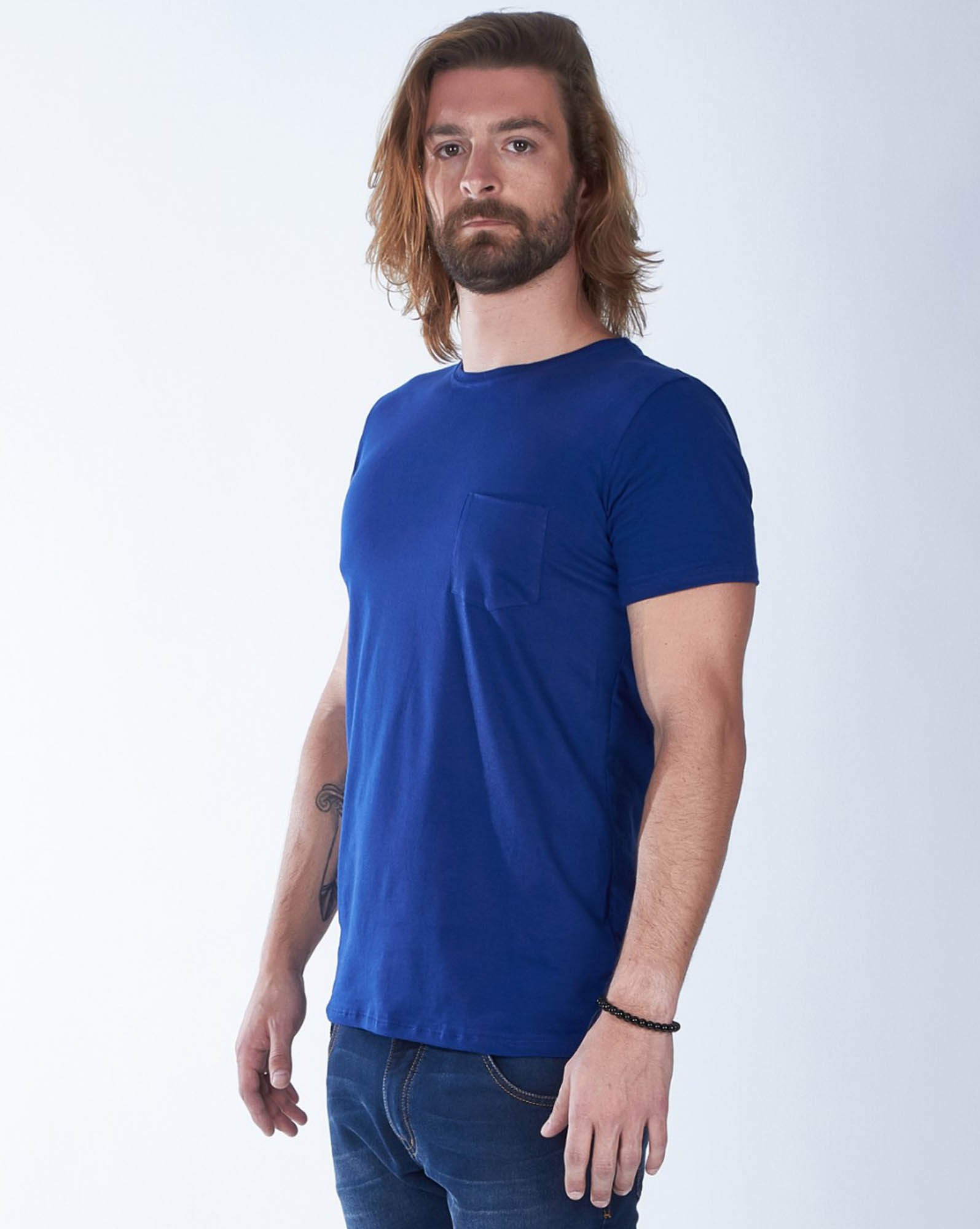 CAMISETA ROYAL BLUE PIMA