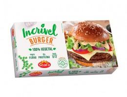 Hambúrguer de ervilha sabor carne Seara
