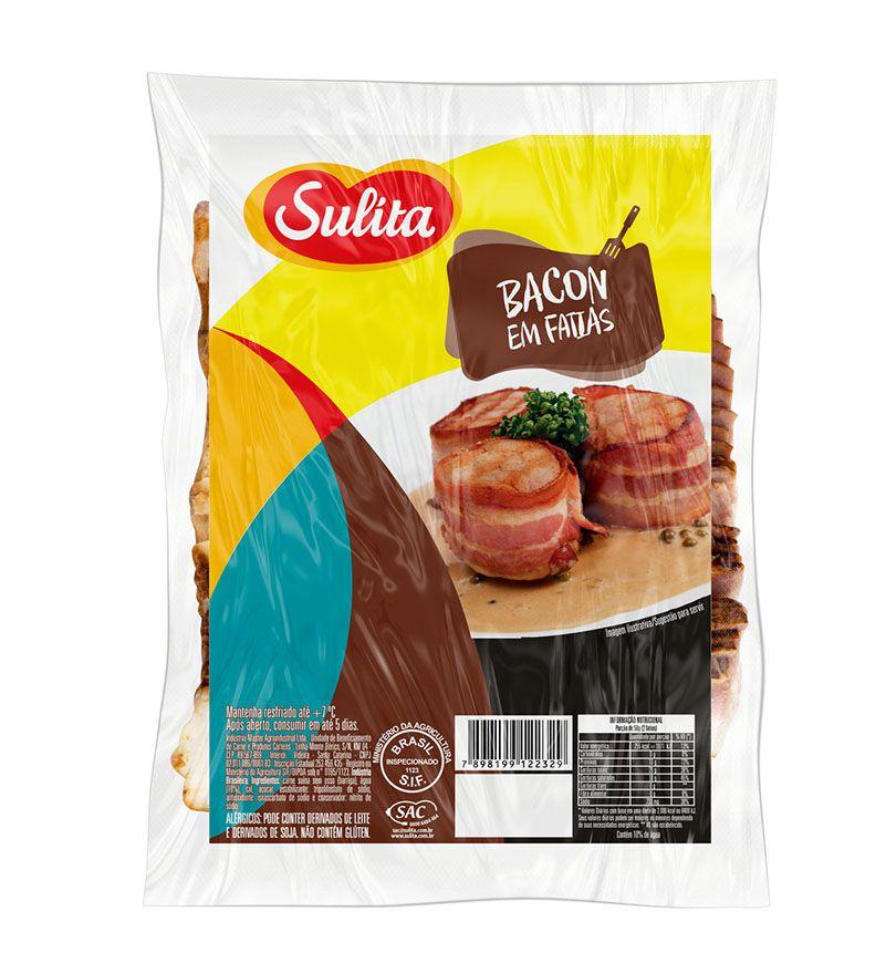 Bacon em fatias