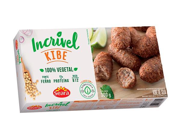 Kibe 100% vegetal (soja)