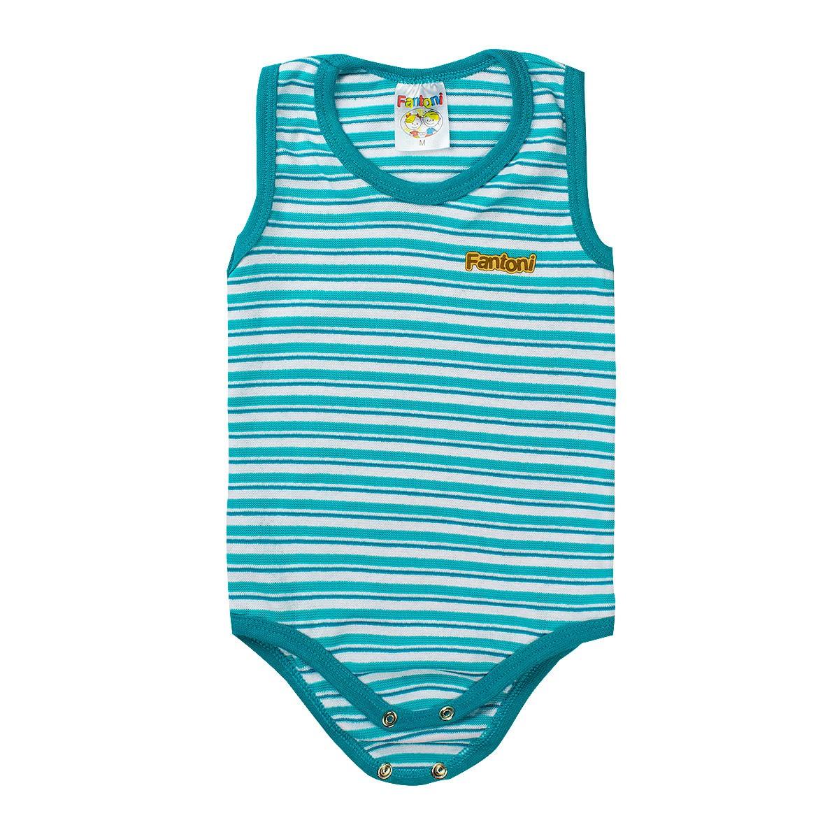Body Infantil Menino Regata Verde - Fantoni
