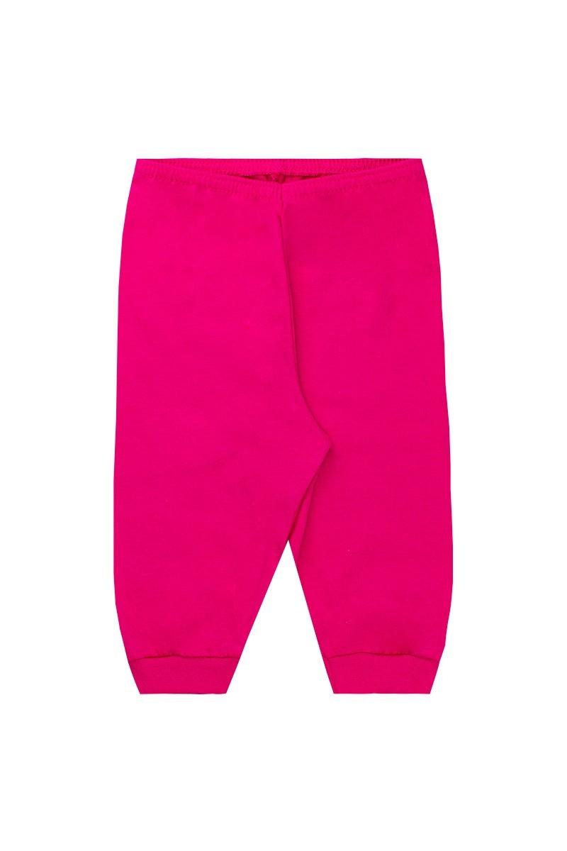 Conjunto Body Inverno Calça Babador Pink - Fantoni