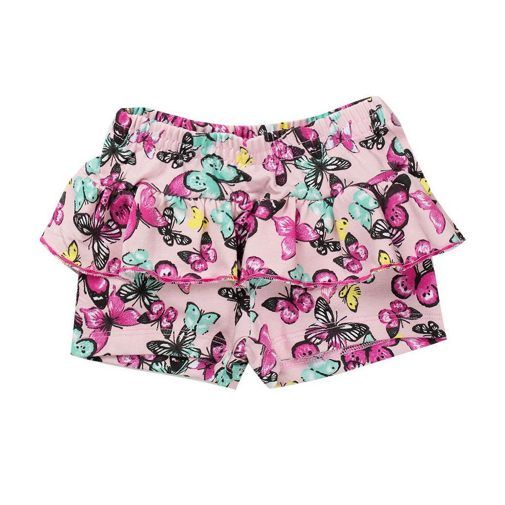 Conjunto Infantil Feminino Aplique Glitter Pink - Fantoni