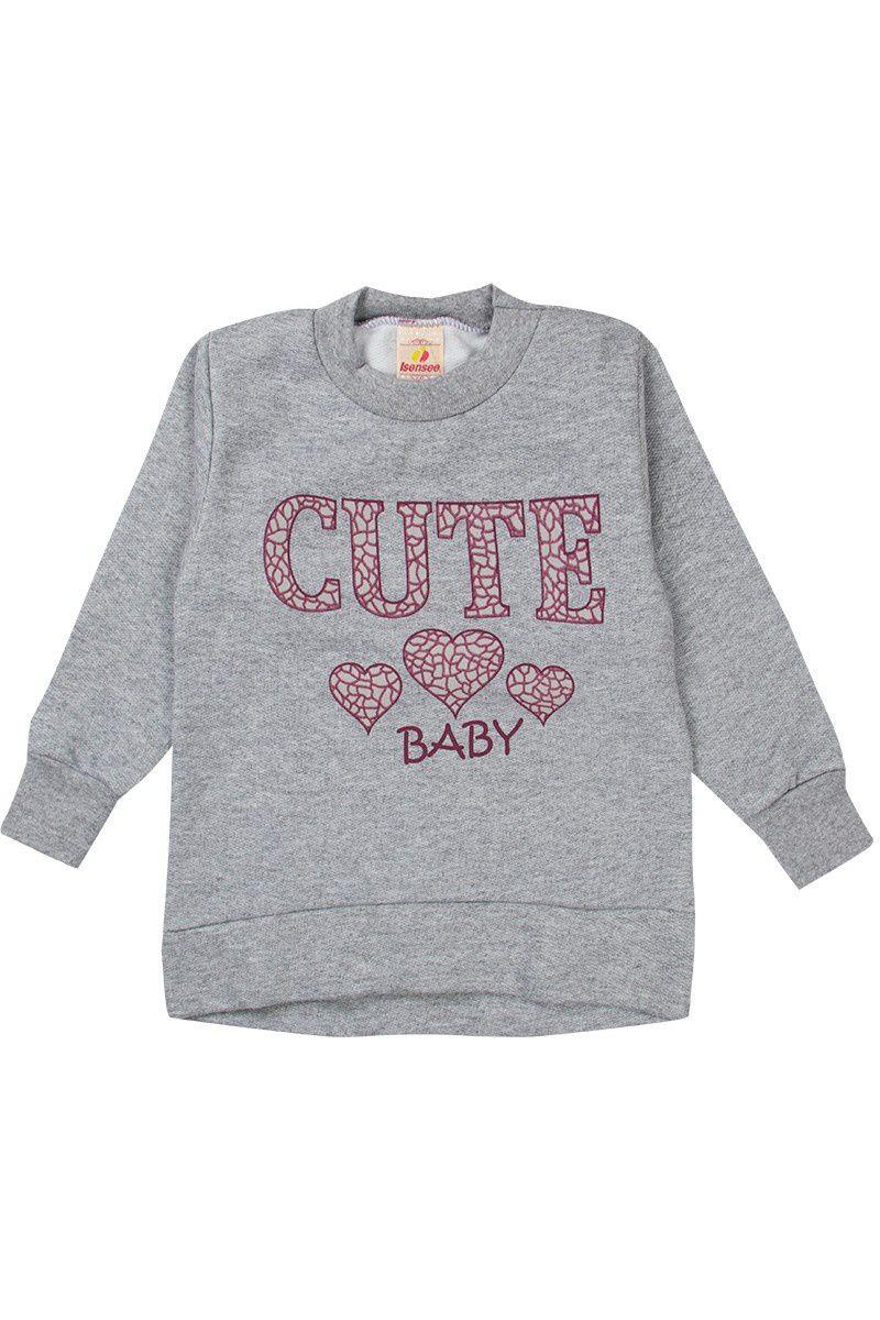 Conjunto Infantil Feminino Cute Baby Mescla - Isensee