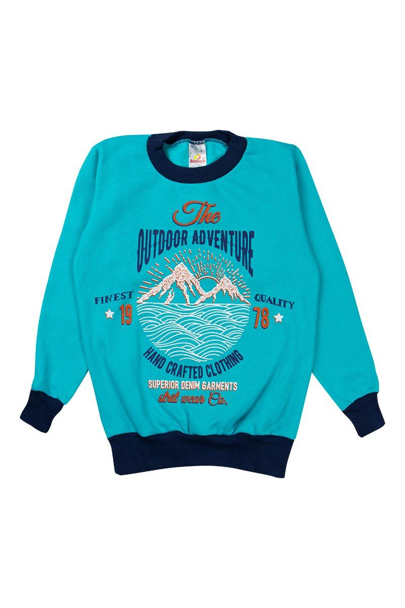 Conjunto Infantil Masculino Adventure Azul - Isensee