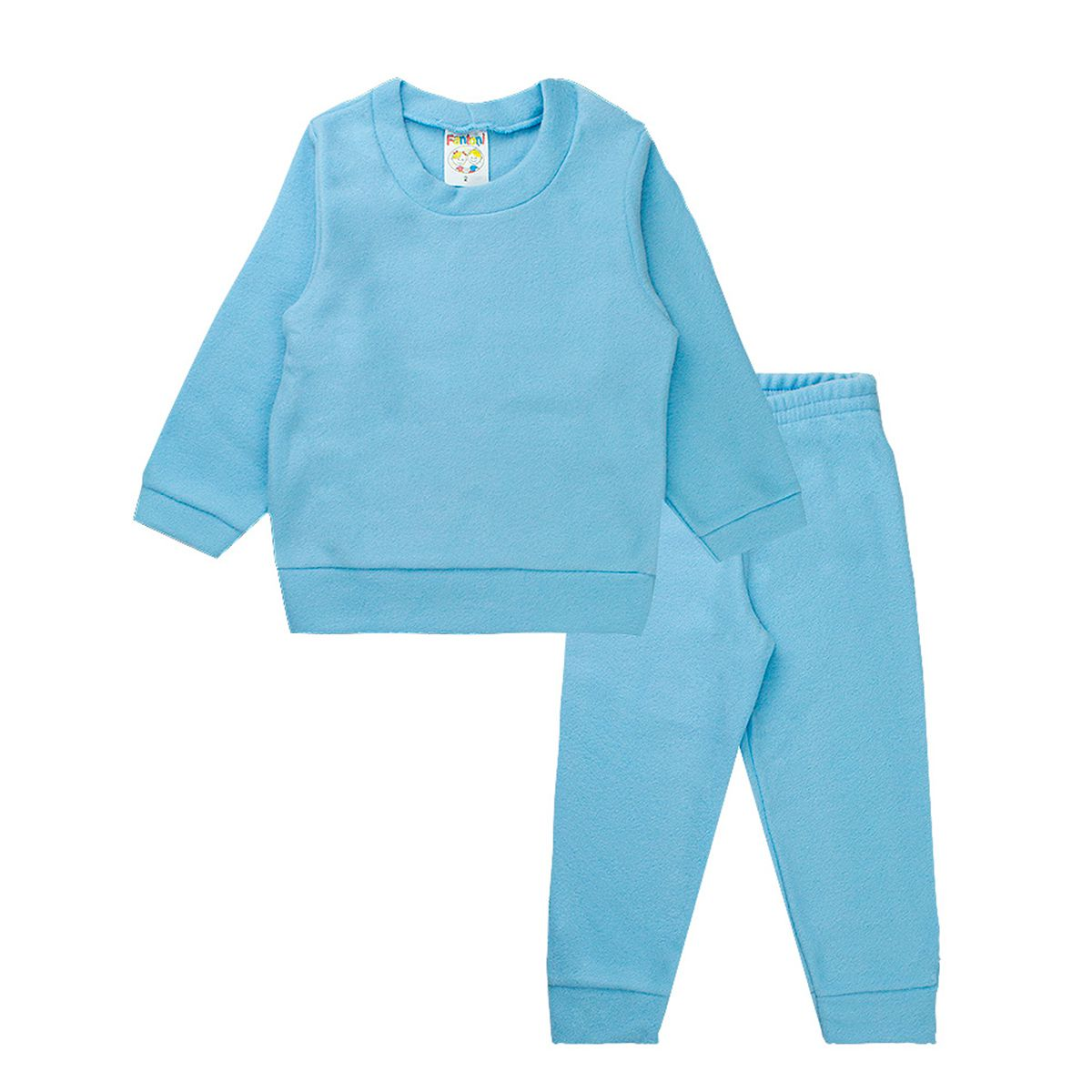Conjunto Infantil Menino Soft Azul Fantoni
