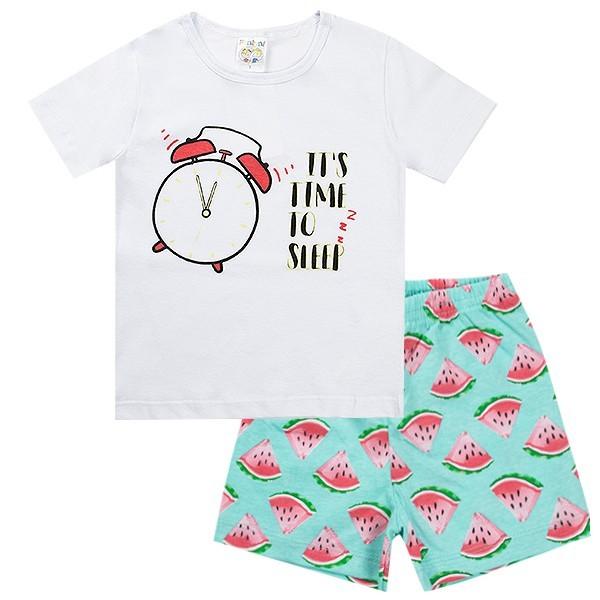 Conjunto Pijama Infantil Menino It´s Time Verde - Fantoni