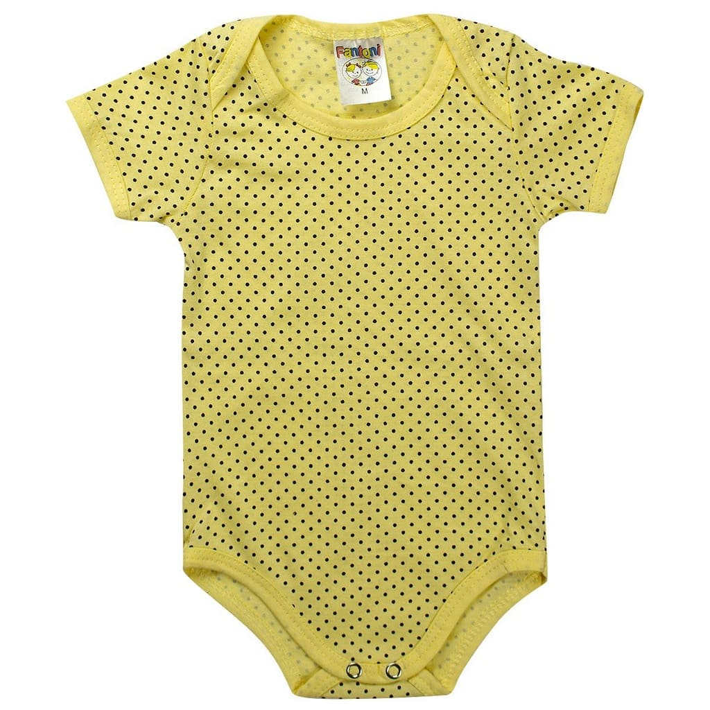 Kit Body Masculino Contendo 3 Peças Amarelo - Fantoni