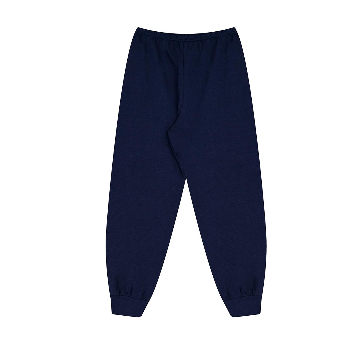 Pijama Infantil Menina Estampado Manga Longa e Calça Inverno