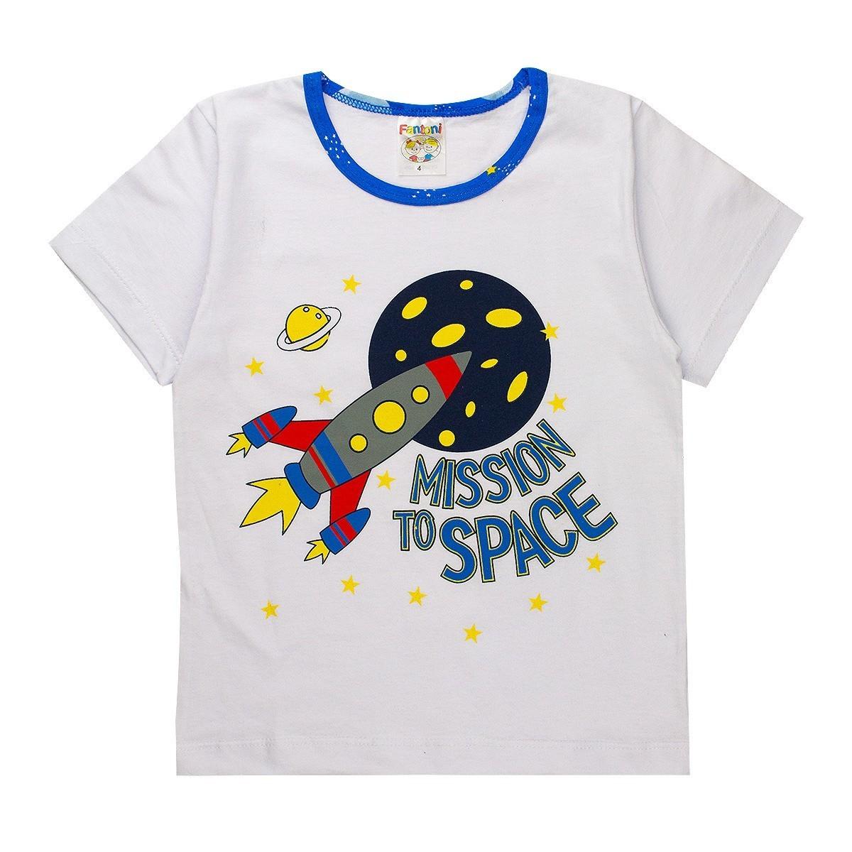 Pijama Infantil Menino Brilha No Escuro Conjunto Masculino