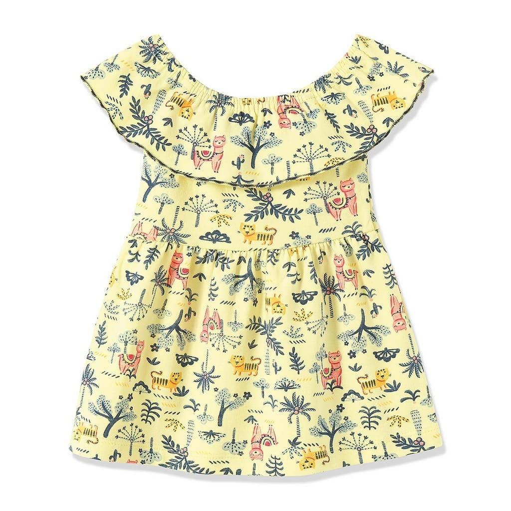 Vestido Infantil Bebê Ciganinha Floral - Fantoni