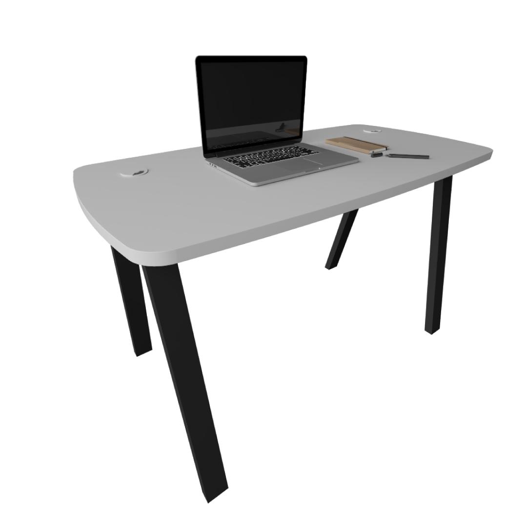 Mesa para Escritório com Furação para Fios de 1,20 m x 60 cm x 74 cm