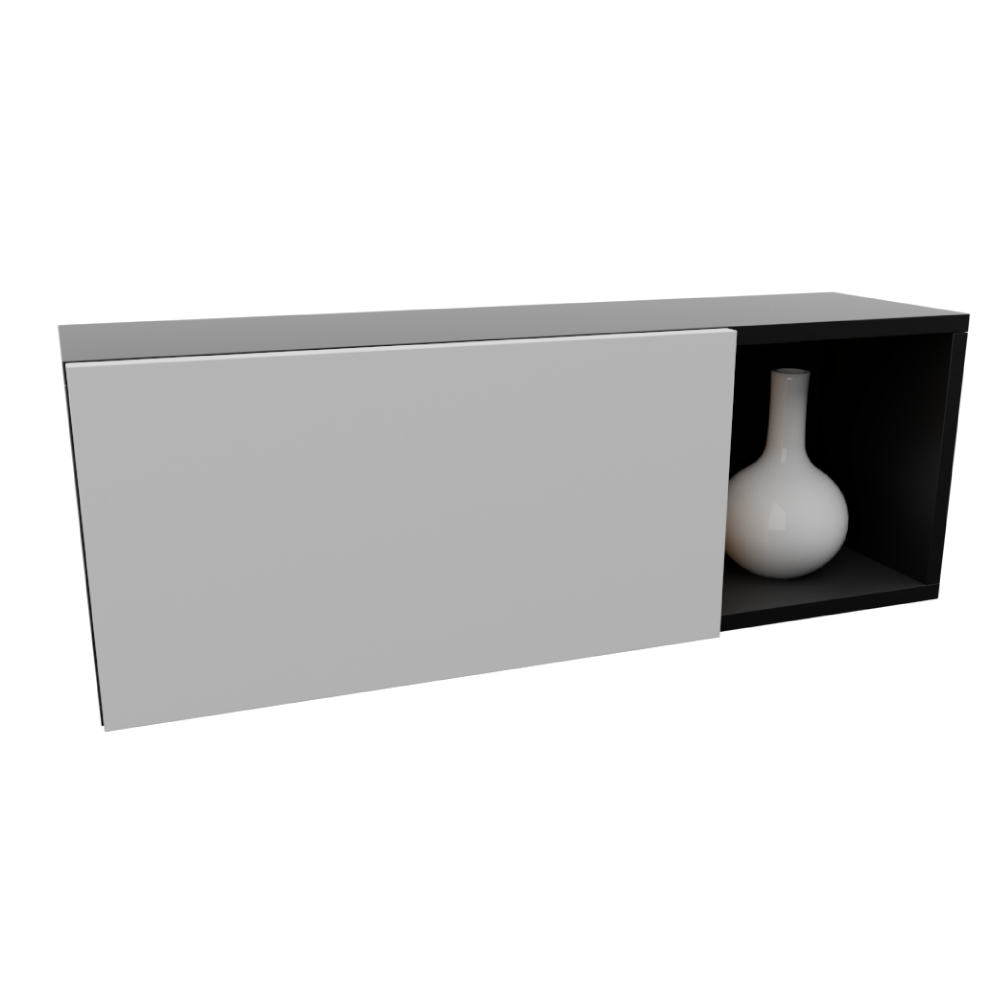 Rack de TV Mael com 1 Porta e 1 Nicho de 1,20 m x 30 cm x 40 cm