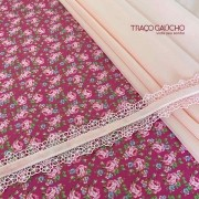 Combo floral pink