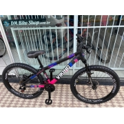 BICICLETA 26 VIKING TUFF X30 21V PRETO/ROSA