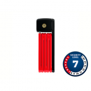 Cadeado Abus Nível 07 - BORDO™ LITE Dobrável 6055/60 Vermelho