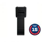 Cadeado Abus Nível 15 - BORDO GRANIT XPLUS™ Dobrável 6500/85 BK SH