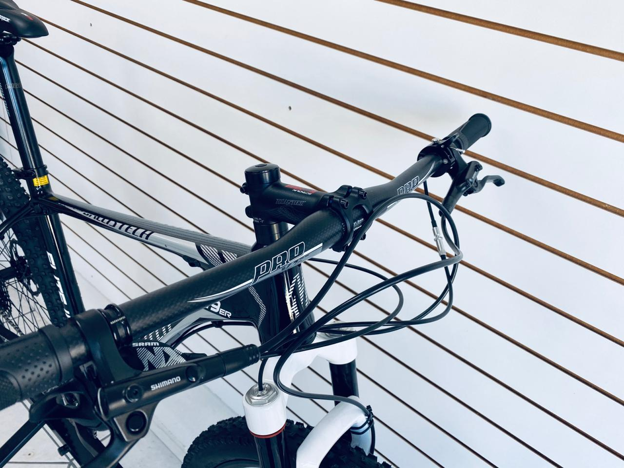 BICICLETA 29 BALLISTECH ELITE II 12V NX TAM. 19 PRETO/BRANCO
