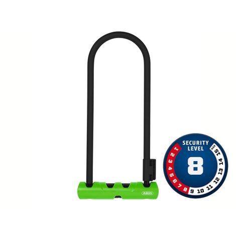 Cadeado Abus Nível 08 - U-Lock Ultra 410/170BH300 GN SH34