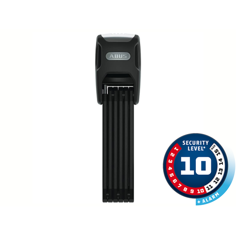 Cadeado Abus Nível 10 - Dobrável BORDO™ ALARM 6000A/90