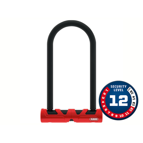 Cadeado Abus Nível 12 - U-Lock Ultimate 420/170HB230+USH+10/120