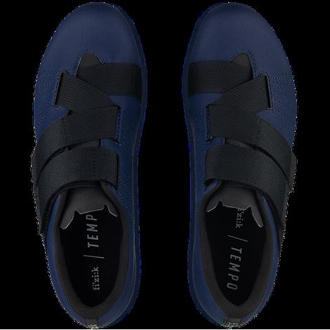 Sapatilha Fizik Tempo R5 Powerstrap Azul Escuro e Preta