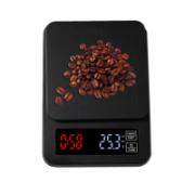 Balança com Timer Retangular para Café e Chá Preta
