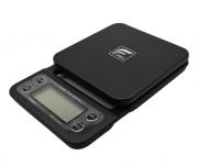 Balança Digital com cronometro preta profissional