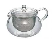 """Bule para chá de vidro Hario Cha Cha Kyusu """"Maru"""" – 450 ml"""