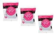 Kit Filtro Hario V60 01 Branco 3 pacotes - 300 unidades