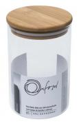 Pote Hermético de Vidro para Café com tampa de Bamboo 900 ml