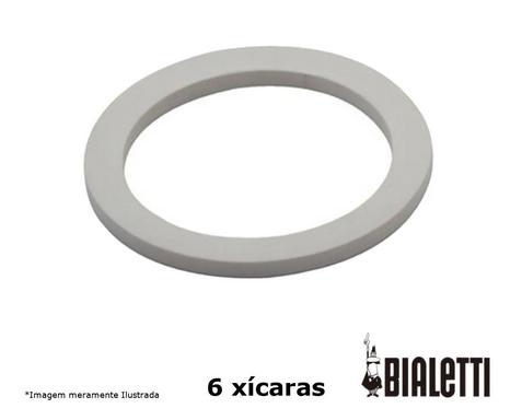 2 Borrachas Vedação Cafeteira Italiana Bialetti 6 Xícaras