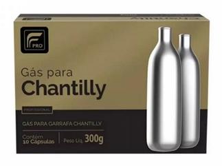 40 Refil Cápsula Sifão Garrafa Chantilly N2o