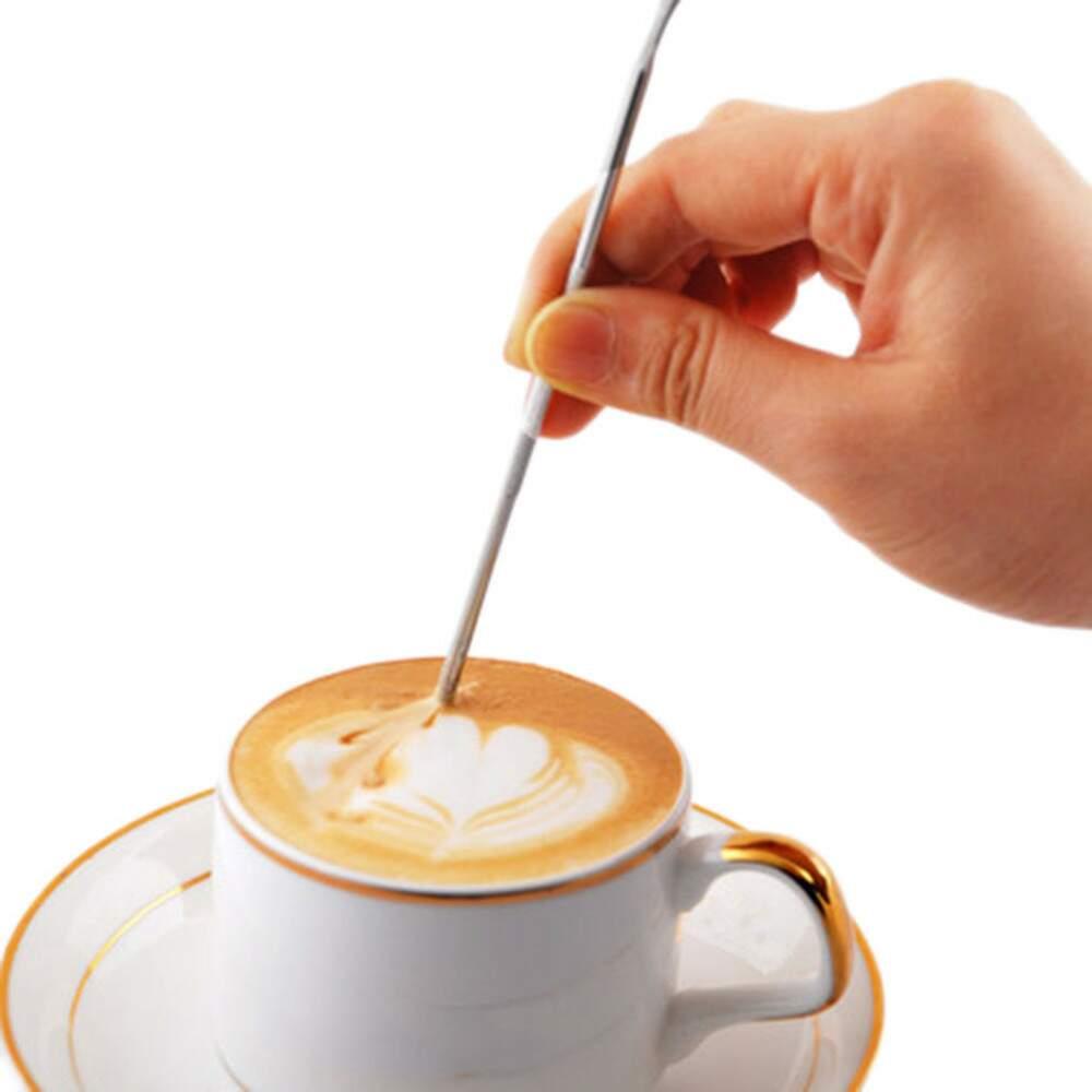 Agulha para Latte Art - Caneta para Cappuccino em aço inox