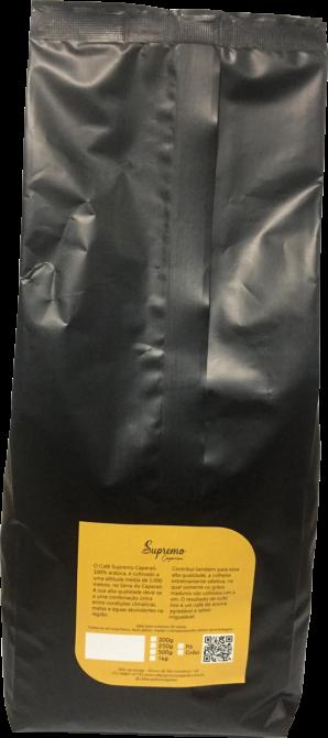 Café Supremo Caparaó 100% Arábica 1 kg para Espresso