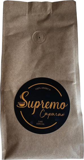 Café Supremo Caparaó 100% Arábica 250g (grãos)