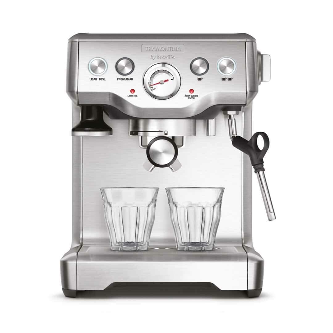 Cafeteira Breville 1,8 L - maquina de café espresso um grupo Tramontina