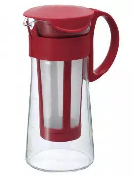 Cafeteira Hario para Cold Brew - Vermelha (Mizudashi) - 600 ml