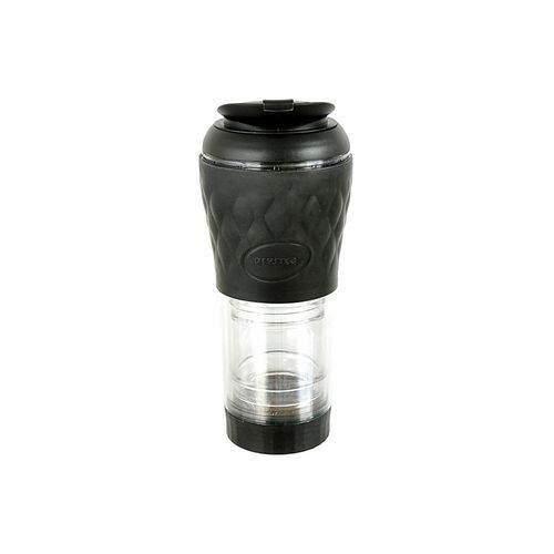 Cafeteira Pressca - Cafeteira Portátil - Cor Preta - 350 ml