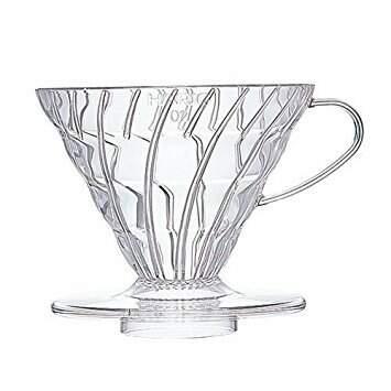 Coador de café hario V60 02 acrilico transparente