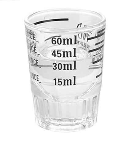 Copo medidor de espresso 60 ml