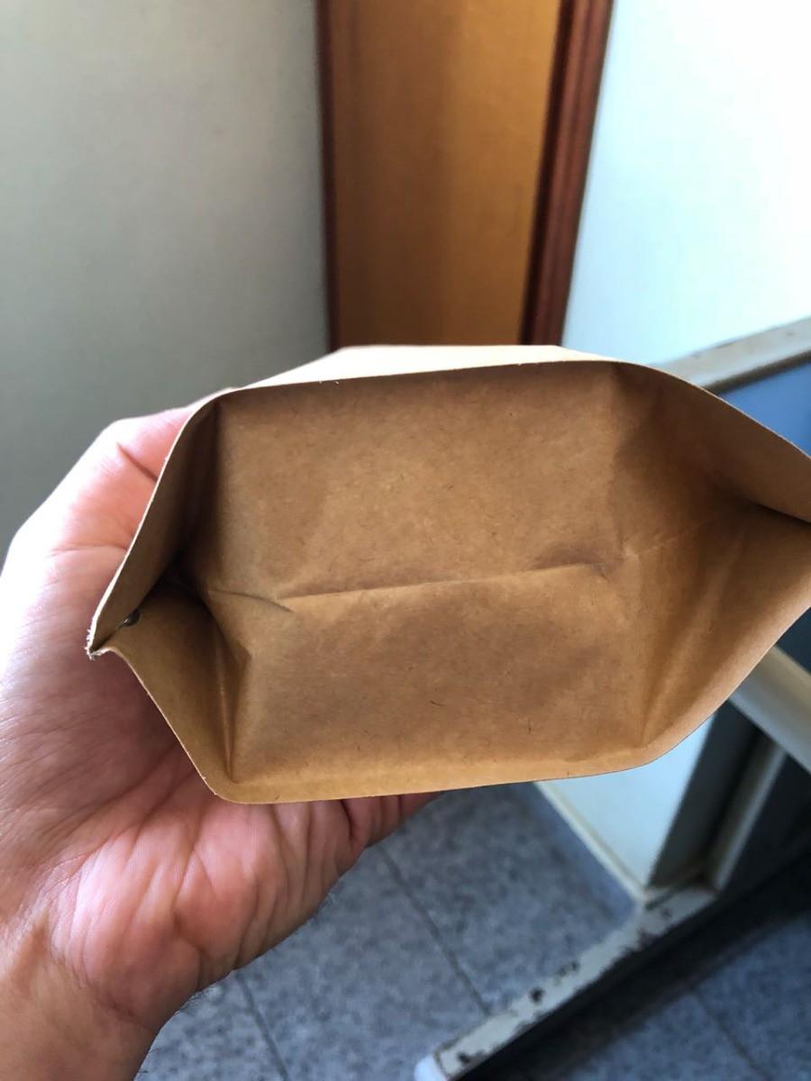Embalagem Para Café Kraft Valvuladas 500g - 50 Unidades
